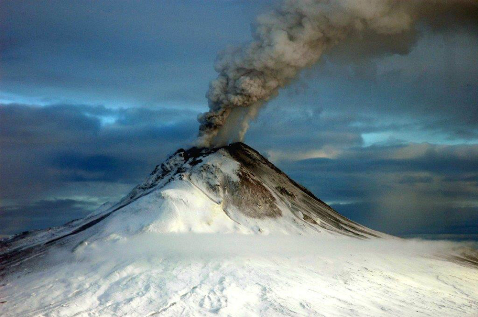 A short trip from Anchorage, AK, where Lakeshore Inn and Suites is located, to the spectacular Augustine Volcano.